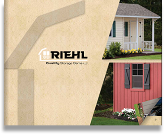 Riehl Quality Storage Barns Full Color Brochure