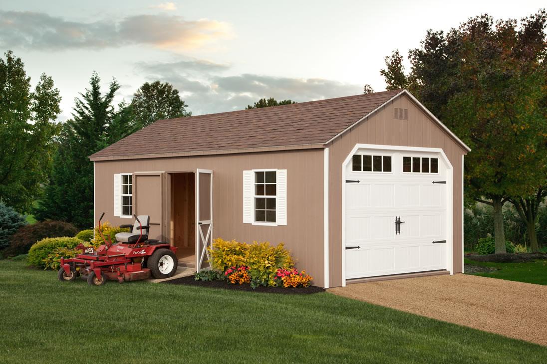 A frame barns garages and gardener workshops made by for 10x14 garage door