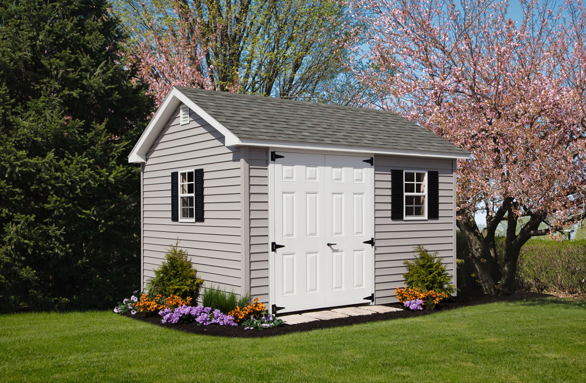 A-Frame Colonial Storage Barns & Sheds - Custom Made from Riehl Quality