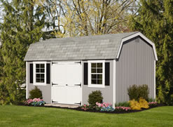 10x16 Colonial Dutch Storage Shed
