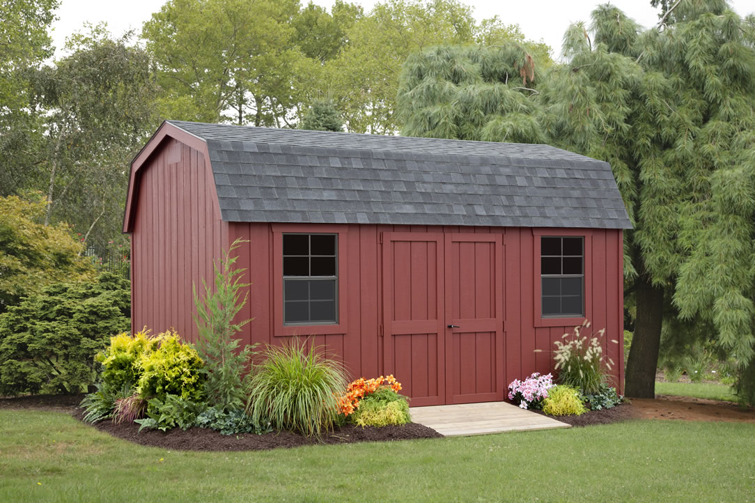 Dutch colonial storage barns mini barns and tool sheds for Dutch style barn
