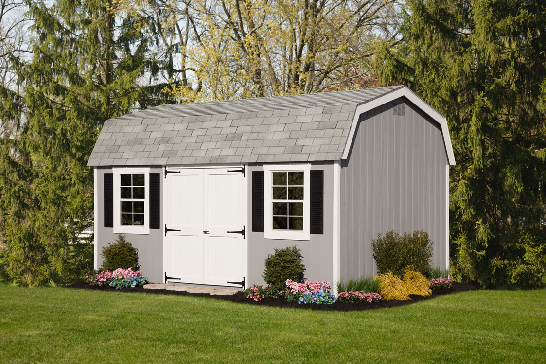Dutch colonial storage barns mini barns and tool sheds for 18x27 window