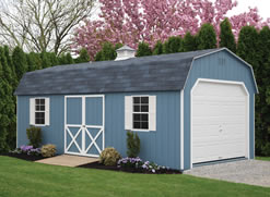 12x24 Dutch Barn Garage