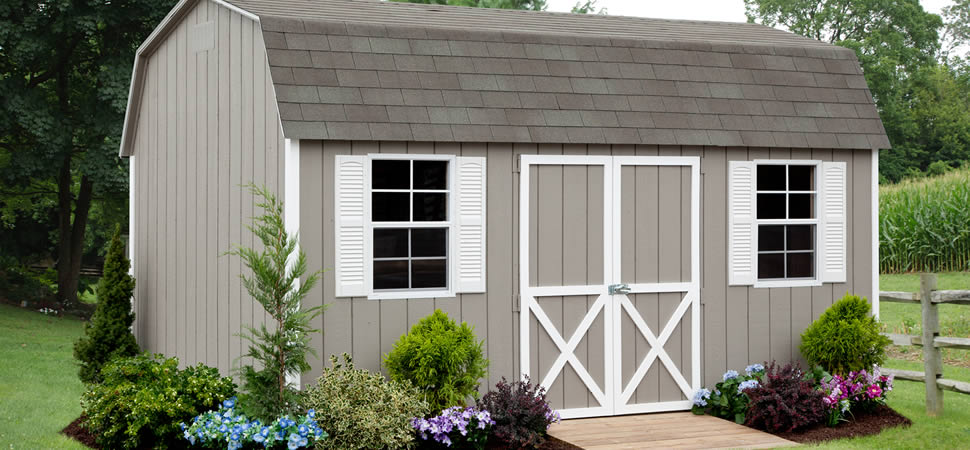 Garden Sheds Nj dutch barns & sheds from riehl quality storage barns, pa, nj, de