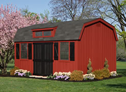 10x16 Colonial Dutch Barn