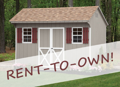 Get Your Own Storage Building with Our Rent-to-Own Program!