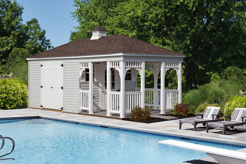 Let Us Customize Your Pool House!