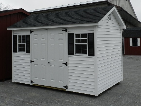 8x12 Colonial Aframe Vinyl Siding