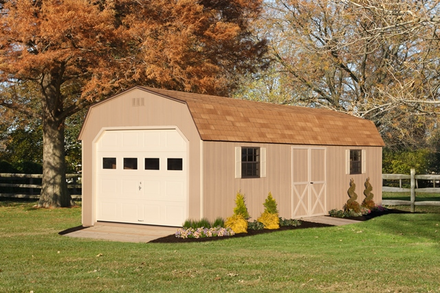 12x30 Dutch Barn Garage