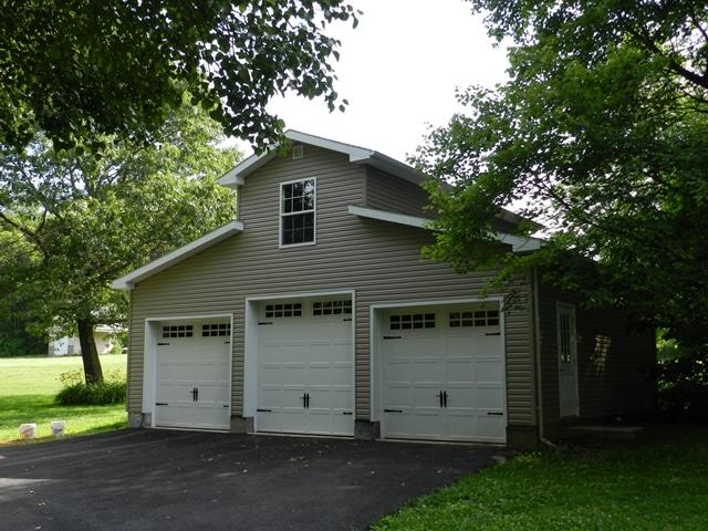 32x28 2 story garage for 24x26 garage plans