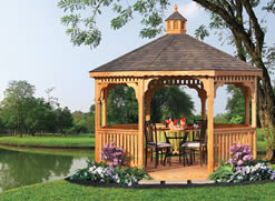 Pressure Treated Wood Gazebos