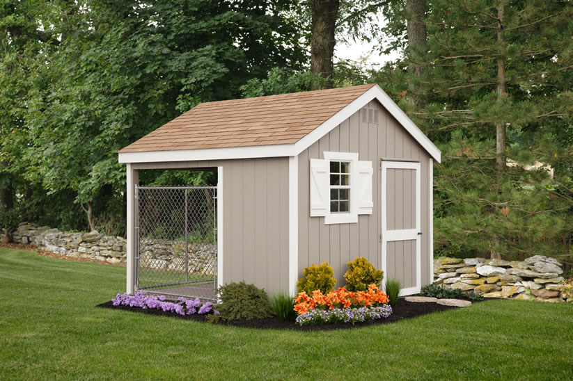dog kennels and dog houses at riehl quality storage barns
