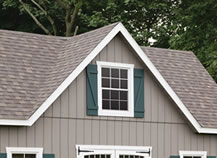 Accessories to customize your storage barn dormers for Reverse gable garage