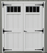 6' Door with Transoma and Arch Trim